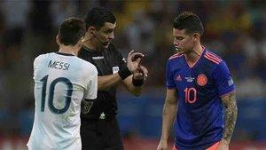 James Rodríguez superó en esta ocasión a Messi