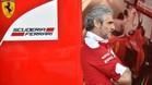 El jefe de la Scuderia Ferrari, Maurizio Arrivabene
