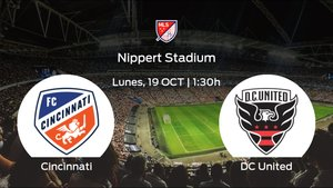 Jornada 19 de la Major League Soccer: previa del encuentro Cincinnati - DC United