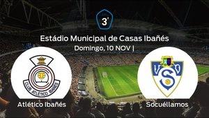 Jornada 13 de la Tercera División: previa del duelo Atlético Ibañés - Socuéllamos