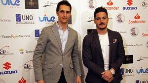 El karateka, en los Premios del Deporte Fundación Ramón Grosso