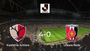 El Kashima Antlers se queda con los tres puntos ante el Urawa Reds (4-0)