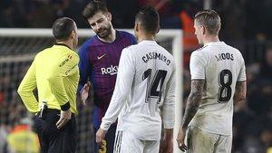 Kroos y Casemiro podrían no llegar al duelo contra el Barça