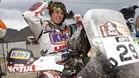 Laia Sanz, en la última edición del Dakar