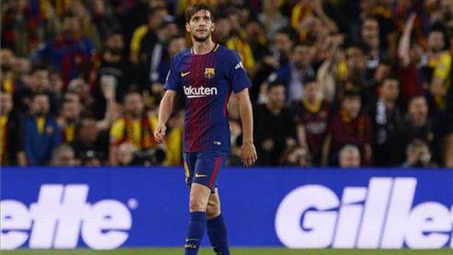 LALIGA | FC Barcelona - Real Madrid (2-2): Sergi Roberto vio la roja directa por un forcejeo con Marcelo