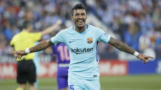 LALIGA   Leganés - FC Barcelona (0-3): El gol de Paulinho que sentenció el marcador