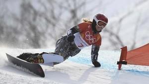 Ledecka ganó también en el gigante paralelo de snowboard