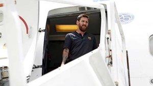 Leo Messi estará dos días en Dubai por motivos profesionales