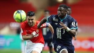 El Lille dio la sorpresa adelantándose en el marcador.