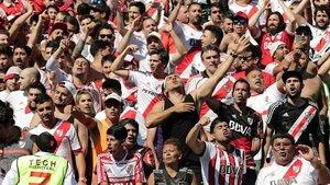 Los aficionados de River tendrán que ver la final en Madrid