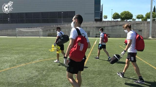 Los árbitros de la RFEF ultiman su puesta a punto física