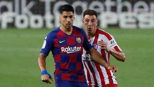 Luis Suárez sigue interesando al Atlético de Madrid