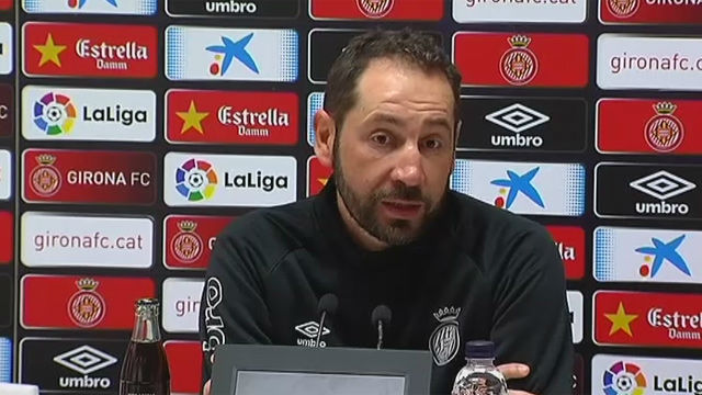Machín: No tenemos miedo al Real Madrid
