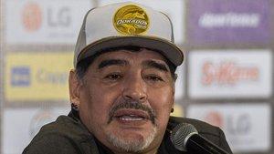 Maradona, contento con el regreso de Menotti a la albiceleste.