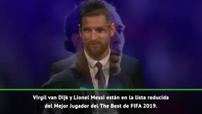 Messi, candidato a The Best