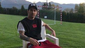 Messi descansa en su casa de Bolvir