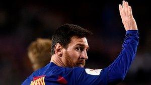 Messi, de vuelta