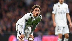 Modric se lamenta tras caer eliminados en Champions