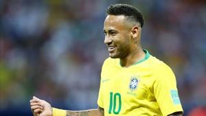Neymar fue eliminado por Bélgica en cuartos de final