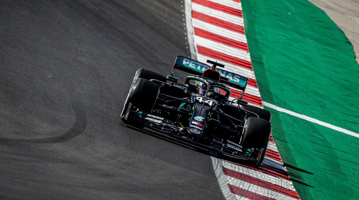 Hamilton saca el genio en Portimao con una gran pole