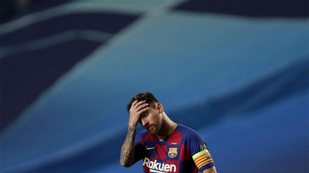 El palo y Neuer secaron a Messi