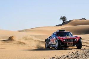 Peterhansel se ha anotado la novena etapa del Dakar