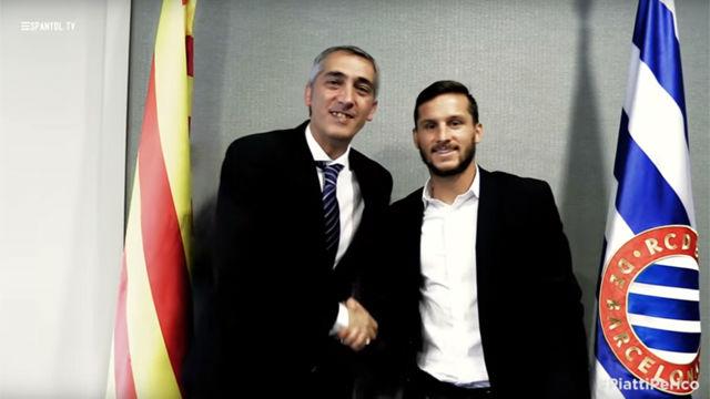Piatti aseguró su continuidad en el Espanyol tras una gran temporada