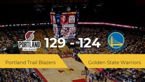 Portland Trail Blazers se hace con la victoria en el Moda Center contra Golden State Warriors por 129-124