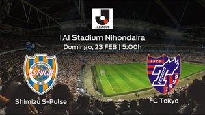 Previa del partido: primer partido del campeonato para el Shimizu S-Pulse contra el FC Tokyo