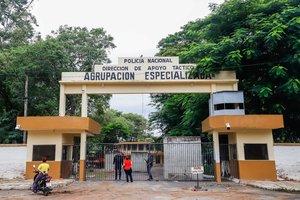 Prision policial de Asunción donde ha estado reclutado Ronaldinho