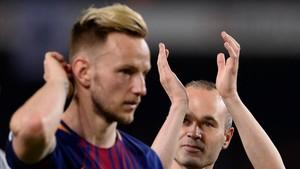 Rakitic, uno de los mejores de la temporada en el Barça