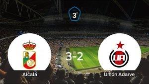 El RAlcalá consigue la victoria en casa frente al Unión Adarve (3-2)