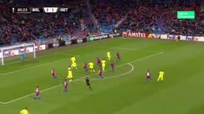 La reacción de Ángel lo dice todo: el árbitro le anuló un gol clarísimo por fuera de juego