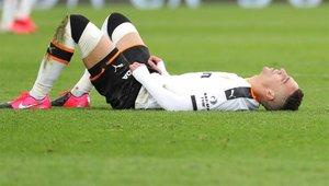 Rodrigo Moreno, lesionado, podría no jugar más esta temporada