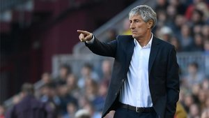 Setién sacó una nueva victoria del Camp Nou