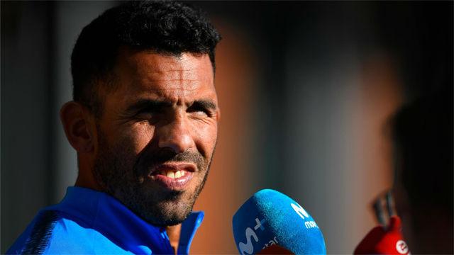 Tévez: Estamos agradecidos a España pero es triste no jugar en nuestro país
