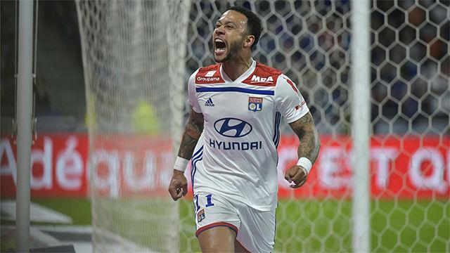 Todos los goles de Depay en la Ligue 1 en la temporada 2018/2019