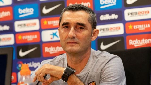 Valverde analizó la presencia de Miranda con el primer equipo