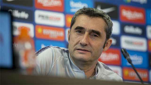 Valverde habló del estado físico de Umtiti