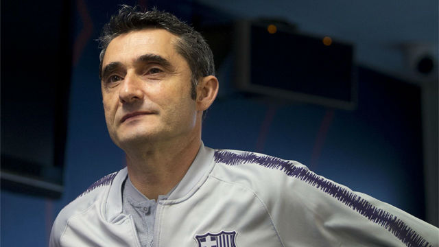 Valverde responde a las palabras de Bartomeu para SPORT