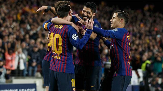 Vea el mejor resumen de la victoria del Barça ante el Manchester United