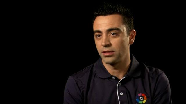 Xavi: Mi futuro está en los banquillos