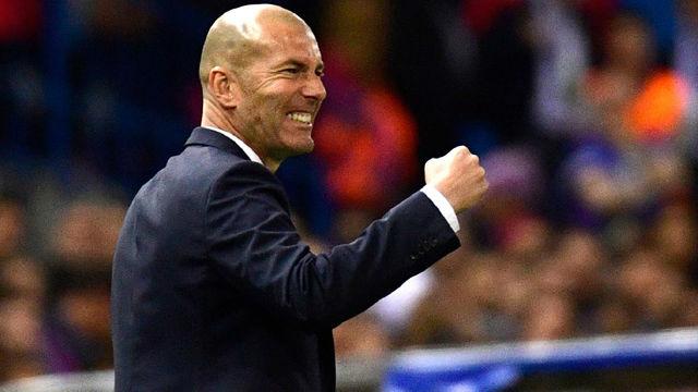 Zidane vuelve a ser entrenador del Real Madrid