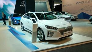 Hyundai Ioniq eléctrico.