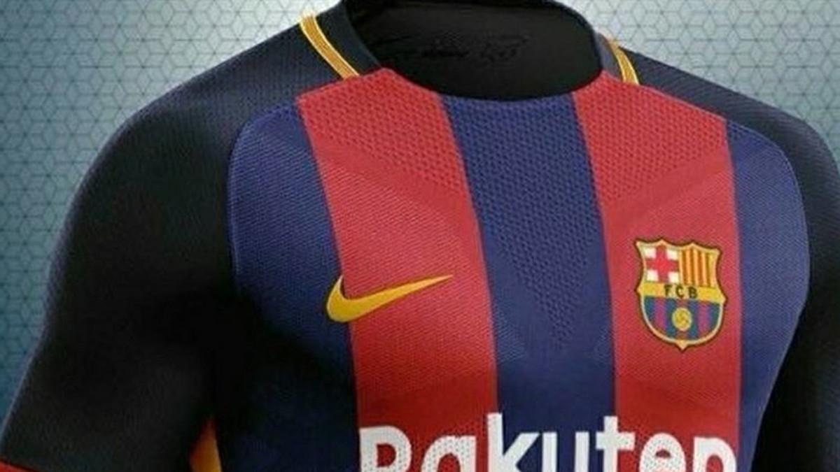 6408e24980 La supuesta versión de la camiseta del Barça 2018 19