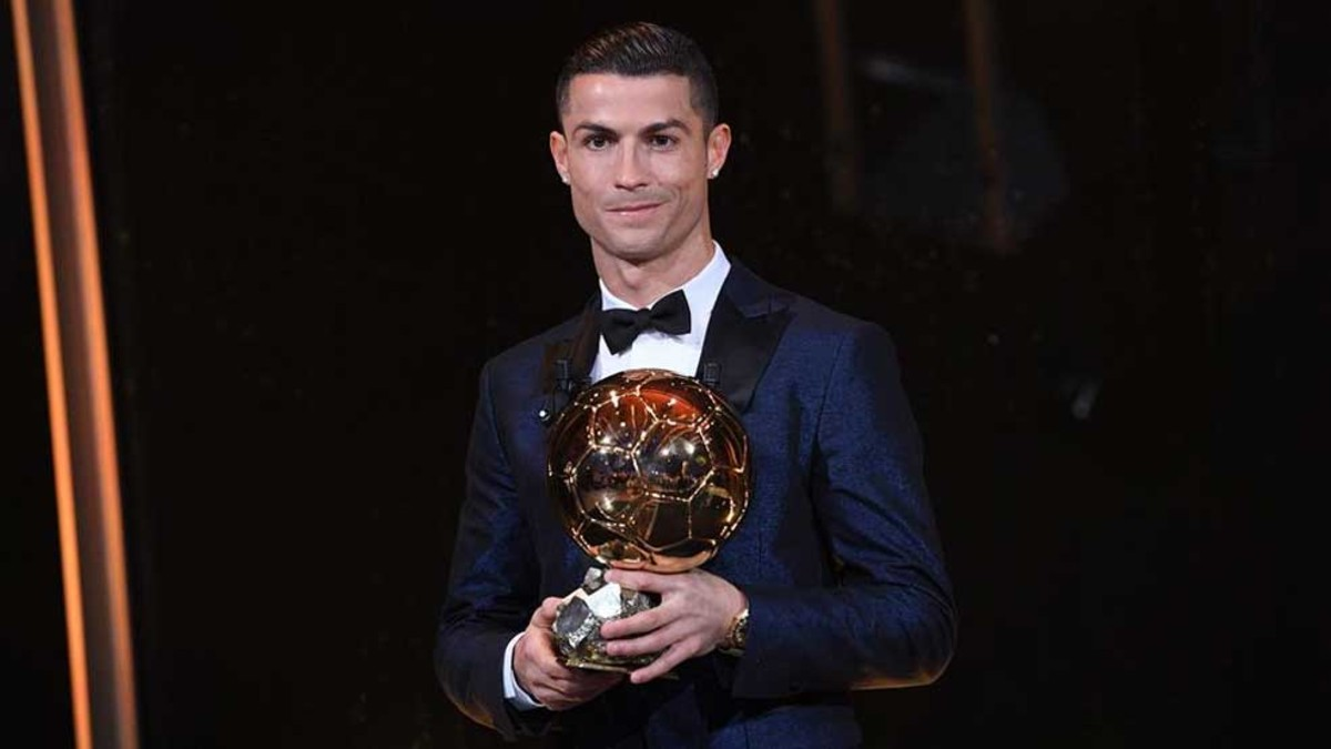 Los Balones de Oro de Cristiano Ronaldo 0602d2f676dd1