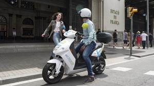 eCooltra, servicio de motosharing líder en Europa.