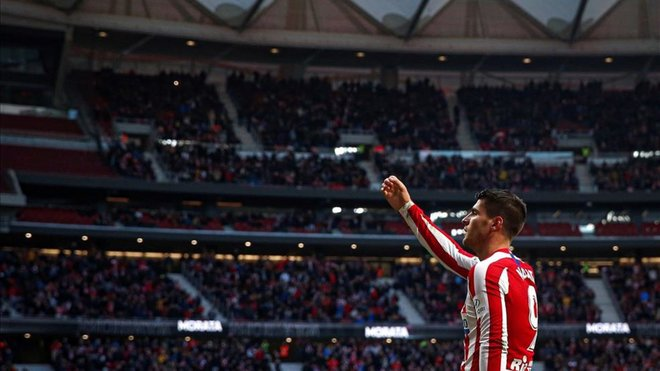 Morata engancha al Atlético al gol