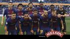 La alineación del Barça que disputó la Supercopa de Catalunya