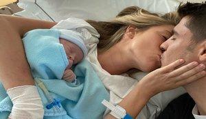 Álvaro Morata y Alice Campello son padres por tercera vez
